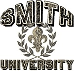 Smith Last Name University T-shirts Gifts