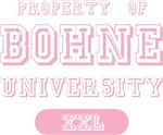 Bohne Family Name University T-shirts Gifts
