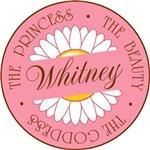 Whitney Princess Beauty Goddess T-shirt Gifts