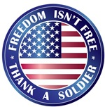 Freedom Isn't Free Thank Soldier T-shirts Gifts