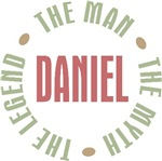 Daniel the Man the Myth the Legend T-shirts Gifts