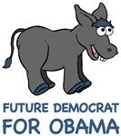 Future Democrat for Barack Obama T-shirts Gifts