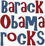 Barack Obama Rocks President T-shirts Gifts
