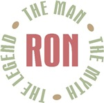 Ron the Man the Myth the Legend T-shirts Gifts