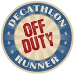 Off Duty Decathlon Runner T-shirts Gifts