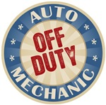 Off Duty Auto Mechanic T-shirts Gifts