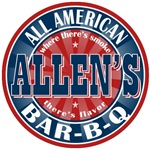 Allen's All American Bar-b-q T-shirts Gifts