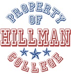 Hillman College Property Of Custom T-shirts Gifts