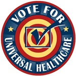Vote for Universal Healthcare T-shirts Gifts