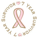 7 Year Breast Cancer Survivor T-shirts Gifts