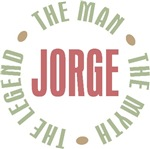 Jorge the man the myth the legend T-shirts Gifts