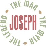Joseph the man the myth the legend T-shirts Gifts