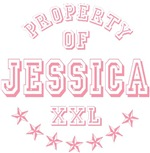 Property of Jessica Personalized T-shirts Gifts