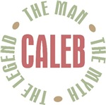 Caleb the man the myth the legend T-shirts Gifts