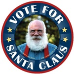 Vote for Santa Claus For President