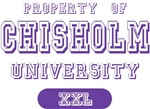 Property Chisholm Last Name University Tees Gifts