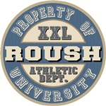 Roush Last Name Athletic Dept Tees Gifts