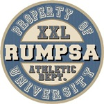 Rumpsa Last Name Athletic Dept Tees Gifts