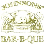 Johnson Vintage Family Name Barbeque Tees Gifts