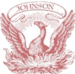 Johnson Vintage Eagle Last Name Tees Gifts