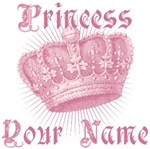 Custom Personalized Princess Name Tees Gifts