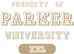 Property Of Parker University T-shirts Gifts