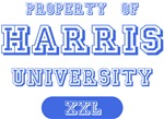 Harris Last Name University Tees Gifts