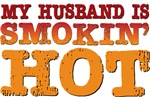 My Husband is Smokin Hot Tees Gifts