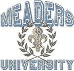 Meaders Last Name University Tees Gifts