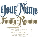 Personalized Family Reunion Tees and Gifts