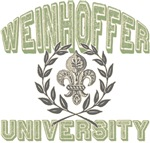 Weinhoffer Last Name University Tees Gifts