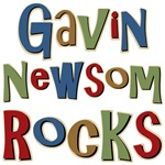 Gavin Newsom Rocks Tees Gifts