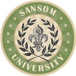Sansom Last Name University Tees Gifts