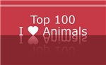 Top 100 I Heart Animals Tees Gifts
