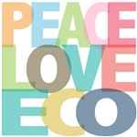 Peace Love Eco Tees Gifts