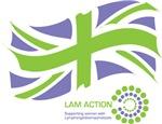 LAM Action Flag + Logo