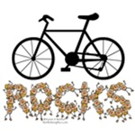 Bicycle Rocks Text