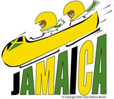 Jamaica Bobsled Jamaican items