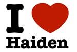 I love Haiden