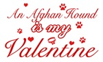 An Afghan Hound is my valentines