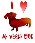 I Love My Weeny Dog