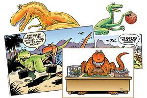 Dinosaur Cartoons Dinosaurs