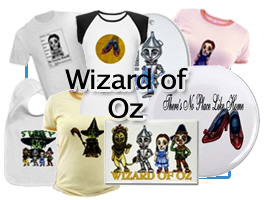Wizard of Oz Clothing and gifts