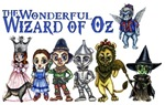 The Wonderful Wizard of Oz brought us some of our most memoriable and timeless characters.  This anime styled Wizard of Oz t-shirt design features all that is good and evil from the Wonderful Wizard of Oz book by Frank Baum that we have all come to love.