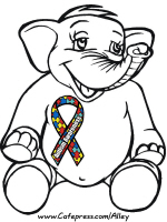AUTISM AWARENESS ELEPHANT