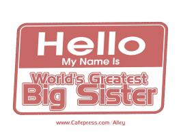 WORLD'S GREATEST BIG SISTER