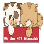 PETS ARE NOT DISPOSABLE