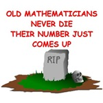 a funny math joke on gifts and t-shirts.