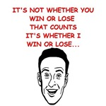a funny sports joke on gifts and t-shirts.