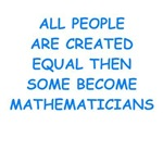 math joke on gifts and t-shirts.